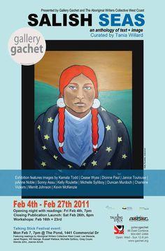 Salish Seas anthology + art show