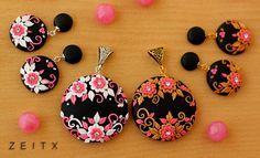 pendents with polymer clay (zeitx)
