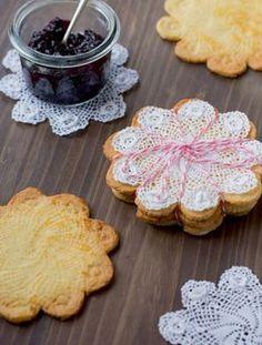 Rezept: Spitzen-Kekse-amicella