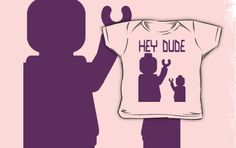 """""""Minifig Hey Dude, by Customize My Minifig"""" Kids Clothes by ChilleeW 