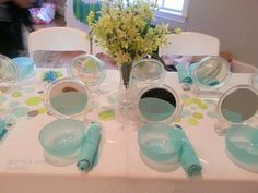 """Photo 2 of 19: Spa + Sleepover / Birthday """"Lime Green & Aqua Tween Party"""" 