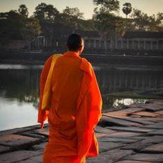 Esther Verhees | Fotografie - Portfolio - Categorie: Cambodja Early Morning Monk