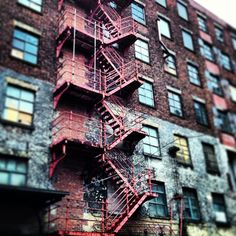 Dunno what it is about derelict old warehouses but I just love them! Exhibition Ideas, Fire Escape, Salford, Modern City, Warehouses, Balconies, North West, Manchester, Street Art