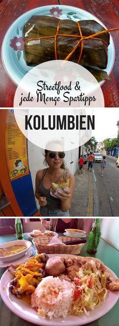 #Streetfood in #Kolumbien! Erfahre außerdem in unserem #Backpacking #Reisebericht jede Menge #Spartipps für dieses atemberaubende Land.