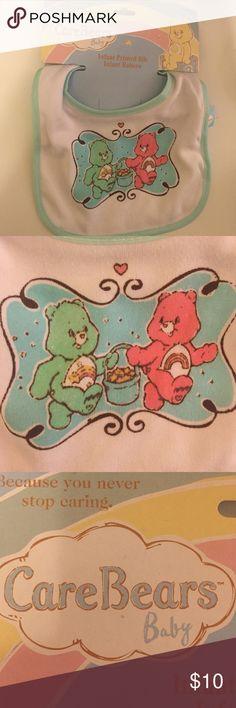 🐙 NEW! Care Bear Bib Brand new care bear bib. Care Bears  Accessories Bibs