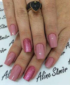 46 Ideas For Wedding Nails Toes Beautiful Cute Nails, Pretty Nails, Hair And Nails, My Nails, Jolie Nail Art, Nagellack Design, Nailart, Acryl Nails, Nail Art Techniques