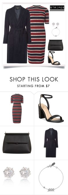 """Stripes"" by alsuhaimialia ❤ liked on Polyvore featuring Dorothy Perkins, ALDO and River Island"