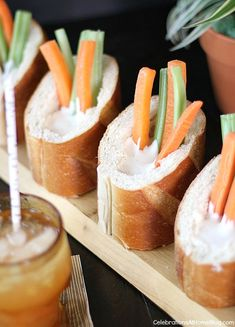 Veggie Dip Bread Cup