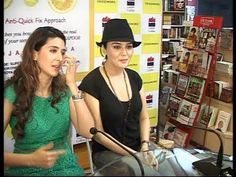 Preity Zinta at the book launch of Pooja Makhija.
