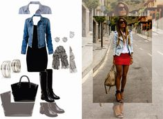 outfits con chaleco de mezclilla - Buscar con Google