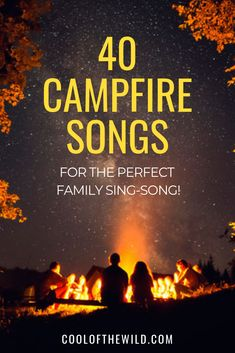 A list of campfire songs that the whole family will adore including kids camp songs, tradional songs, guitar campfire songs and Guide and Scout songs. Camping With Kids, Family Camping, Go Camping, Picnics With Kids, Camping Songs For Kids, Camping Hacks, Campfire Stories For Kids, Camping Coffee, Camping Lights