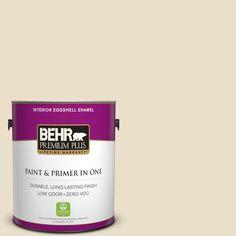 BEHR Premium Plus 1-gal. #pwn-41 Castle Ridge Zero VOC Eggshell Enamel Interior Paint