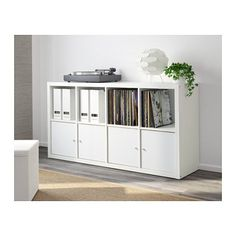 KALLAX Shelving unit, white white 77x147 cm