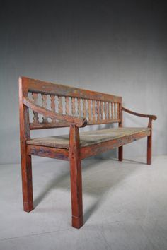 19th Century Antique Painted Pine Bench Seat. -miles-griffiths-antiques-IMG_5682 (1000x1500)_main_636252694406727922.jpg