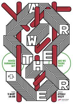 Poster design samples for Number6 Art & Culture Collective. © Studio Sarp…