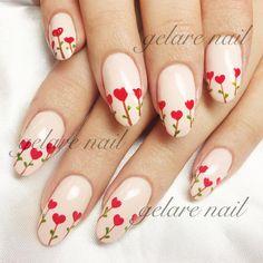 طراحي با لاك ❤️ #nails #nailart #naildesign #art #design #gelarenail #كاشت #ناخن #گلاره #طراحي #لاك