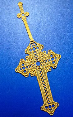Free Embroidery Crosses | Lace Cross Bookmark from Embroidery Library - Easter Lace Bookmark ...