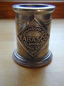 Tabasco Pepper Sauce Bottle Holder ~ Wilton Armetale Metal ~ Made in USA