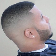 clean fade haircut