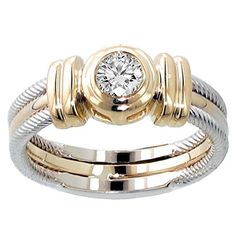 VIP Jewelry Art CT TW Two Tone Bezel Set Diamond Anniversary Wedding Ring in Gold >>> Very nice of your presence to drop by to visit the image. (This is our affiliate link) Platinum Wedding Rings, Wedding Ring Styles, Platinum Ring, Jewelry Art, Jewelry Rings, Jewelry Design, Jewelry Shop, Gold Jewelry, Wedding Anniversary Rings