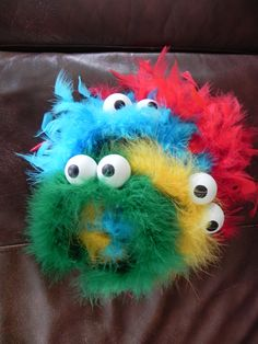 sesame Street / monster Inspired Party headbands-Furry Monster Elmo and Cookie inspired Hairbands Family Halloween Costumes, Holidays Halloween, Diy Costumes, Halloween Fun, Costume Ideas, Halloween Items, Sesame Street Costumes, Sesame Street Party, Sesame Street Birthday