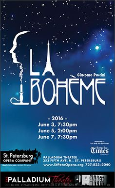 La Boheme at the Palladium this week!