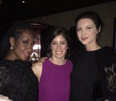"""NEW pic of Caitriona Balfe, Maril Davis and Tichina Arnold (From """"Survivors Remorse"""")"""