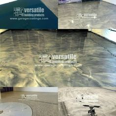 Scott M of DJM Concrete sent in these shots showing off our Lava Flow® Metallic Epoxy and our Roll on Rock® #GarageFlooring.  They installed the #MetallicEpoxy in one area of this #UndergroundGargage and then they used the #EpoxyFlooring for the other area that has a #RotatingAutoShowcase area where they can show off their #ExoticCar for everyone to see.