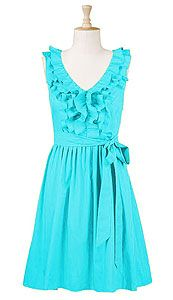 Love this aqua blue dress