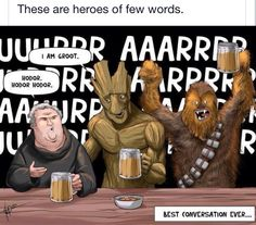 Some heroes only need a few words.