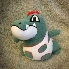 Croconaw Pokemon plush