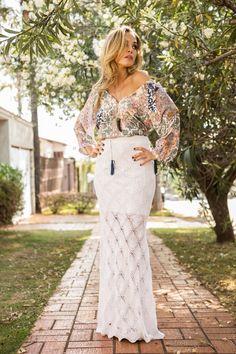 Lafê I Verão16 I Turquia / tricot skirt