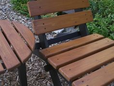 Ive handcrafted this classic two-color outdoor/indoor chair, round top side…
