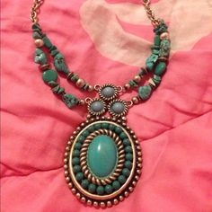 "Spotted while shopping on Poshmark: ""Statement necklace.""! #poshmark #fashion #shopping #style #Jewelry"