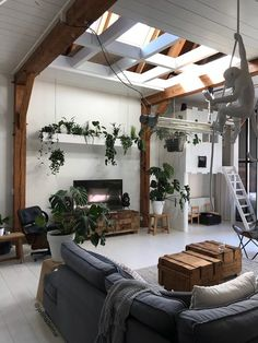 Shop the look: de urban jungle van Jellina Detmar - Dream Home Design, House Design, Deco Jungle, Interior And Exterior, Interior Design, Kitchen Interior, Living Room Goals, Eclectic Decor, Beautiful Space