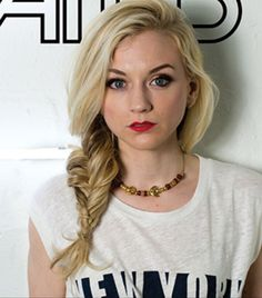 Emily Kinney in Status magazine. Love the hair & makeup!