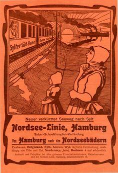 NORDSEE-LINIE / HAMBURG 1902