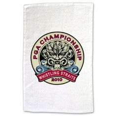"""Sponsoring a golf tournament this season?  How about putting your message on this 11"""" x 18"""" terry golf towel? This quality towel has a smooth print surface that will make your message pop! 1.3 lbs./doz. Material: hemmed terry velour. Made in USA."""