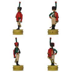 """Cazador a caballo de la Guardia de la colección """"Napoleón Ajedrez : la batalla de Jena"""" de Altaya - Subido desde www.elgrancapitan.org"""