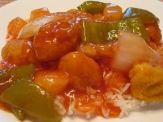I love the sweet and sour sauce from a local Chinese restaurant in my area called ABC Mandarin and have been in search for a copycat recipe. Fun Easy Recipes, Healthy Crockpot Recipes, Slow Cooker Recipes, Crockpot Meals, Easy Snacks, Good Food, Yummy Food, Awesome Food, Tasty