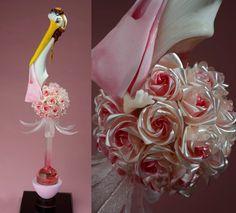 Image provenant du Facebook de Stéphane KLEIN Pulled Sugar Art, Isomalt, Chocolate Art, Mixed Berries, Blush Roses, Edible Art, Bubble Gum, Amazing Cakes, Lemonade