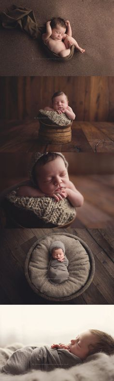 14-day old Coen   Des Moines, Iowa newborn photographer, Darcy Milder   His & Hers Photography