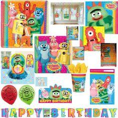 Yo Gabba Gabba Birthday Party Supplies You Pick