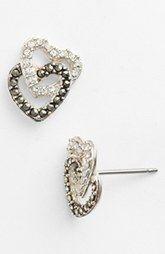 Judith Jack 'Cross Your Heart' Stud Earrings