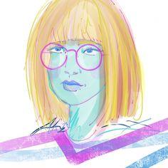 63/100 @the100dayproject2018 faces glasses classic bob #instaillustration #irishartist #instaart #the100dayproject #draweveryway #draweveryway #portrait #glasses #bobhaircut #keepcreative #womenwhodraw #100daysoffabulousfaces Classic Bob, Faces, Portraits, Glasses, Anime, Art, Eyewear, Art Background, Eyeglasses