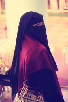 beautiful  with a niqob