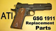 GSG / Sig Sauer 1911 22LR Broken / Replacement Parts Update