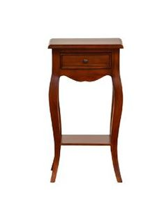 Mahogany Antique French Style Bedside Table