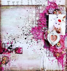 Just My Scrapping World.. : A layout for The Scrapbook Diaries