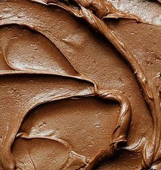 Brownie Frosting :-)  I am going to make this for my favorite homemade brownie recipe!